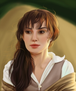"Keira Knightley in ""Pride & Prejudice"""