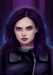 Portrait of Jessica Jones for season 2