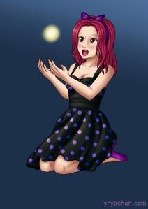 #commission #pinup #animegirl