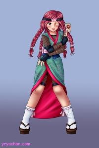 #sakuracon #contest #animegirl #ninja #kunoichi