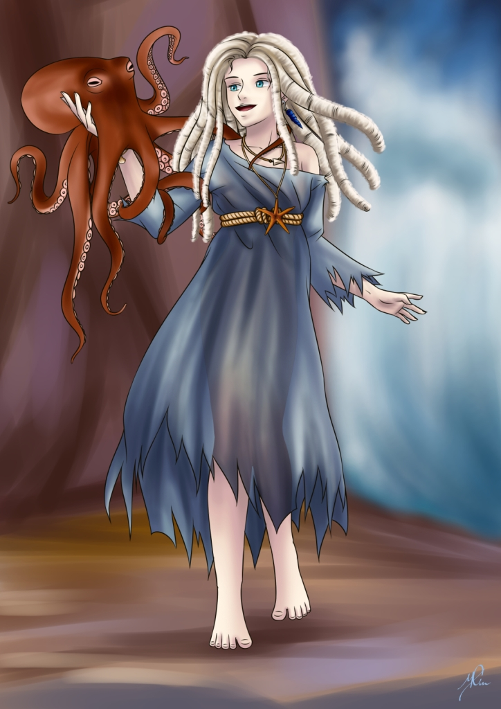#conceptart #witch #seawitch #characterconcept