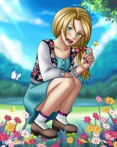 #schoolgirl #neonmob #originalcharacter #anime #megane #cute #lucky #clover