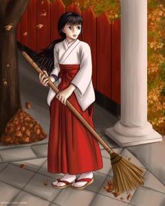 #miko #animeart #illustration