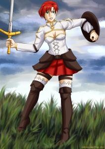 #fgo #fategrandorder #boudica #warrior #fanart